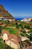 Agulo Village in La Gomera, Spain, Europe
