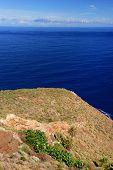 Rocky coast of La Gomera the one of the Canary Islands, Spain