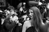 BERLIN, GERMANY - FEBRUARY 05: Julia Malik. Nobody Wants the Night, Opening Night premiere  65th Berlinale International Film Festival at Berlinale Palace on February 5, 2015 in Berlin, Germany