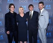 LOS ANGELES - JAN 16:  Ellar Coltrane, Patricia Arquette, Richard Linklater and Ethan H arrives to the Critics' Choice Awards 2015  on January 16, 2015 in Hollywood, CA