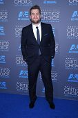 LOS ANGELES - JAN 16:  James Corden arrives to the Critics' Choice Awards 2015  on January 16, 2015 in Hollywood, CA