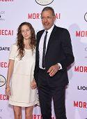 LOS ANGELES - JAN 21:  Jeff Goldblum & Emilie Livingston arrives to the