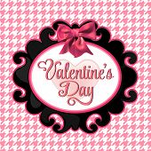 Valentine's Day lettering Greeting Card