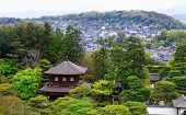 Kinkakuji Temple (The Golden Pavilion) in Kyoto, Japan and its surrounding beautiful park