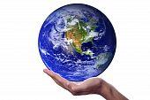 Bild mit freundlicher Genehmigung von Nasa sichtbar Erde Erde