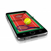 Tennis On Smartphone, Sports App