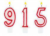Candles Number Nine Hundred Fifteen