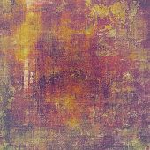 Old-style background, aging texture. With different color patterns: yellow (beige); brown; purple (violet); pink