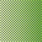 Concept conceptual green abstract metal stainless steel aluminum perforated pattern texture mesh background as metaphor to industrial, abstract, technology, grid, silver, grate, spot, grille surface