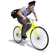 postman on a