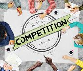 foto of competition  - Competition Competitive Challenge Contest Race Concept - JPG