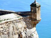Turret Santa Barbara Castle