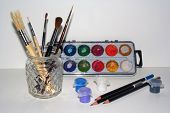 Stock Photo Of Art Tools