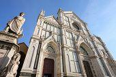 picture of alighieri  - Basilica di Santa Croce  - JPG
