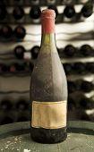 Vintage antique wine