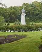 Gettysburg Battlefield From American Civil War. Model Lighthouse In Memorial Park poster