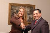 stock photo of business-partner  - business partners 636 - JPG
