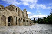 Herodus Atticus Theatre Entrance - Athens, Greece