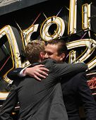 LOS ANGELES - SEPT 15: Neil Patrick Harris, Jason Segal at the ceremony bestowing a star on the Hollywood Walk of Fame to Neil Patrick Harris at Frolic Room on September 15, 2011 in Los Angeles, CA