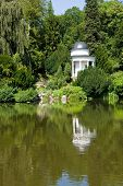 Temple in Kassel´s Bergpark Wilhelmshoehe