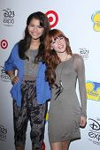LOS ANGELES - AUG 21:  Zendaya Coleman, Bella Thorne at the D23 Expo 2011 at the Anaheim Convention