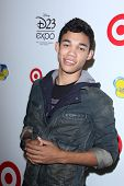 LOS ANGELES - AUG 21:  Roshon Fegan at the D23 Expo 2011 at the Anaheim Convention Center on August 21, 2011 in Anaheim, CA