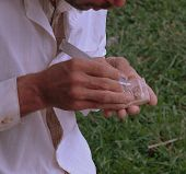 Stone Carver's Hands
