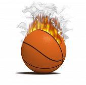 Fire Basketball Item