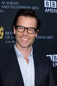 LOS ANGELES - SEP 17:  Guy Pearce arrives at the 9th Annual BAFTA Los Angeles TV Tea Party. at L'Erm