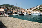 Hydra Island , Greece . Port .