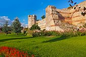 Old Fortress At Istanbul Turkey