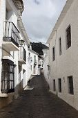 Narrow Street In Andalusian Village