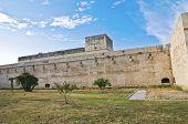 Castle of Charles V. Lecce. Puglia. Italy.