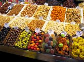 Sweets at the market