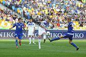 Football Game Between Fc Dynamo Kyiv And Fc Tavriya
