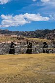 Sacsayhuaman Detail In Vertical