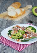 Salad With Jamon And Avocado