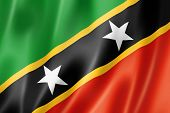 Saint Kitts And Nevis Flag