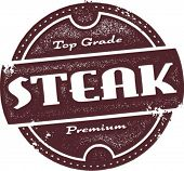 Top Grade Beef Steak Stamp