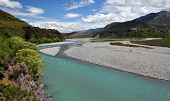 Waiau River, North Canterbury, New Zealand