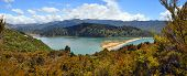 Marahau Lagoon Panorama, Abel Tasman National Park, New Zealand