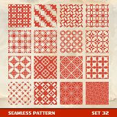 Seamless vintage pattern.  Vector illustration.