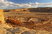 stock photo of pueblo  - Pueblo Bonito - JPG