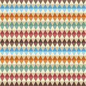 Rhombic seamless pattern. Vector illustration