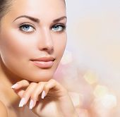 stock photo of facial  - Beauty Portrait - JPG