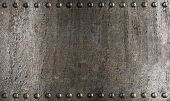 foto of ironclad  - metal armour background - JPG