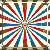 Patriotic square background. A patriotic backgrount for a poster