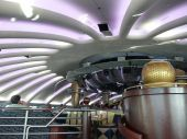 Interior Of The Dome Nightclub On Cruise Ship