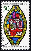 Postage Stamp Germany 1976 Nativity, Christmas
