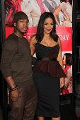 LOS ANGELES - NOV 5:  Ne-Yo, Sanaa Lathan at the